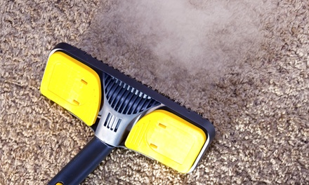 Carpet Cleaning for Three Rooms or Whole House, or Tile and Grout Cleaning from Magic Carpet Care (Up to 54% Off)