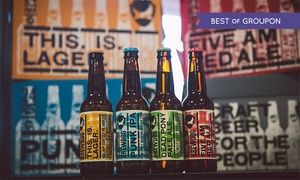 Brewdog All Deals: Beer Tasting and Talk with Five Craft Beers, Cheese and Meats for Two at BrewDog, Choice of Eight Locations