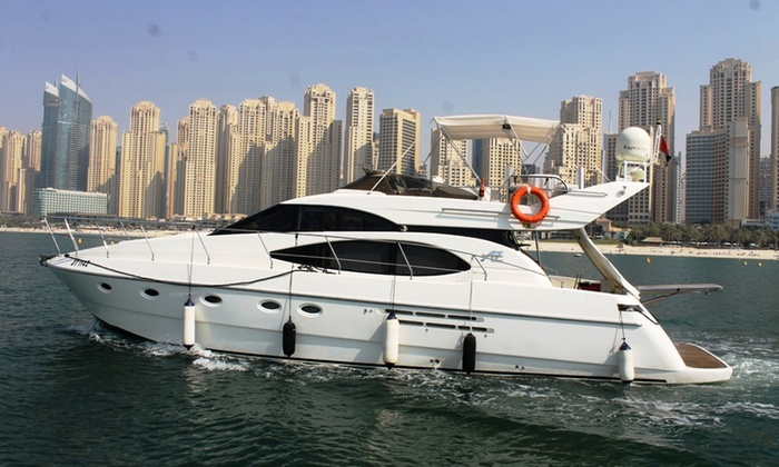 Private Yacht Rental For Up to 20 People from AED 799 With Asfar Renting Boats and Cruise Ships (56% Off)
