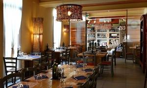 Officina del Gusto: Menu vegetariano con calice di vino per 2 o 4 persone, in centro a Mestre da Officina del Gusto (sconto 53%)