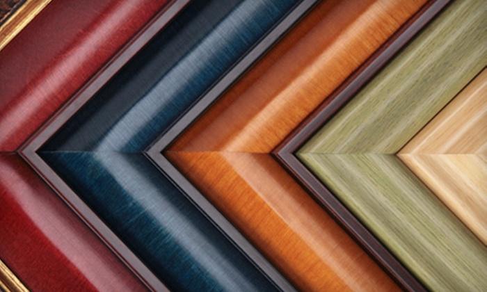 Portland Picture Frame - Creston - Kenilworth: $125 Toward Custom Framing
