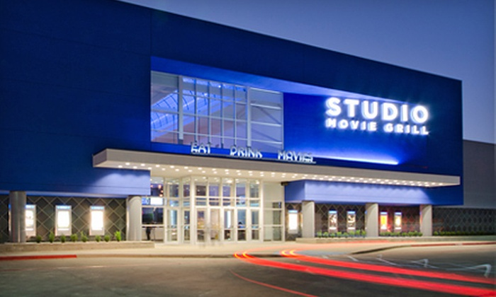 Studio Movie Grill - Dallas Royal Lane: $6 for Movie Outing with Ticket and Soda at Studio Movie Grill (Up to $14 Value)