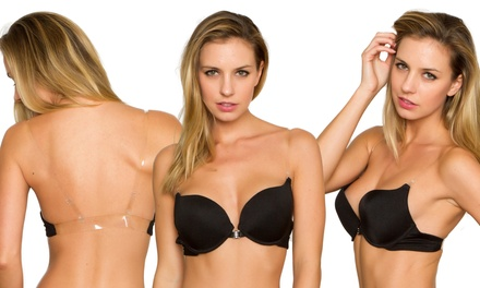 Convertible Bra with Invisible Straps and Back in Regular and Plus Sizes