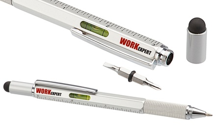 One, Two or Four Six-in-One Construction Tool Pens
