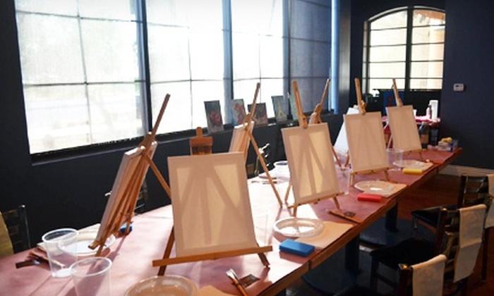 Art Revolution Tonight - Greyhawk: Painting Class for Two or Four from Art Revolution Tonight (Up to 63% Off)