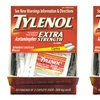 Tylenol Extra-Strength Fever Reducer; 50-Count Box of 2-Caplet Packets