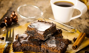 Beer & Brownies Music Lounge: $12 for Two Coffees and Brownies for Two at Beer & Brownies Music Lounge ($20 Value)