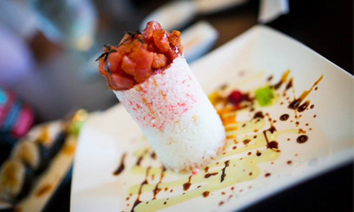 Cafe Icon - Edmond: $15 for $30 Worth of Sashimi and Sushi at Cafe Icon. Two Options Available.