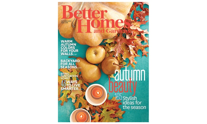 2 Year, 24 Issue Subscription To Better Homes And Gardens