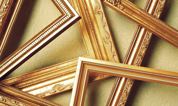 Masterpieces Fine Art & Custom Framing - Multiple Locations: $40 for $120 Toward Custom Framing at Masterpieces Fine Art & Custom Framing