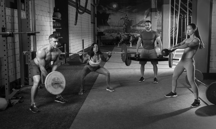 Hyper Crossfit - Burlington: Four Weeks of Unlimited CrossFit Classes at Hyper CrossFit (61% Off)