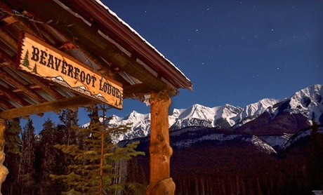 Mountain Lodge in Canadian Rockies