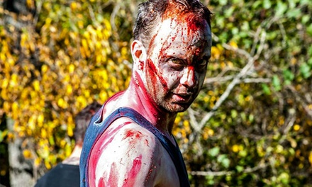 $27 for Entry to the Zombie Frenzy 5K on October 25 ($50 Value)