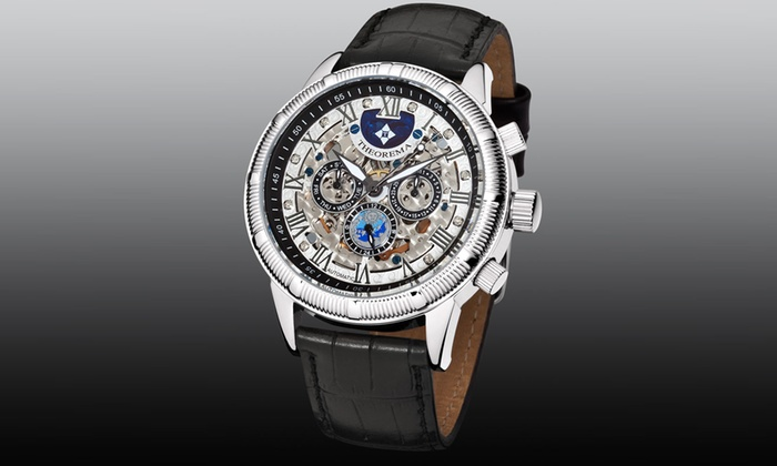 Mens Theorema Monaco Watch 3