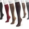 Muk Luks Women's 3-Pair Pack of Microfiber Knee-High Socks
