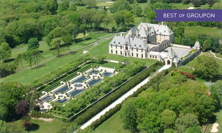 1-Night Stay with Castle Tour at Oheka Castle Hotel and Estate in Huntington, NY. Combine up to Two Nights.