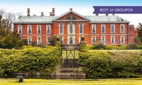 Market Bosworth: 1 Night for Two with Breakfast and Option for Dinner and Wine at Bosworth Hall Hotel