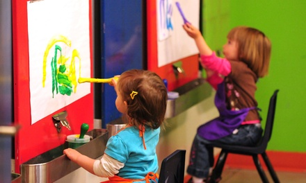 $12 for General Admission for Four to Mobius Children's Museum ($24 Value)