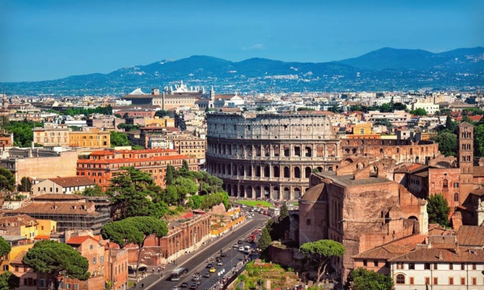 Hotel Stay with Airfare - Rome: Six-Night Rome City Vacation with Round-Trip Airfare from New York (JFK) and Daily Breakfast from Great Value Vacations