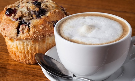 $12 for Four Groupons, Each Good for $5 Worth of Coffee and Fare at Green Beans Coffee Omaha ($20 Value)