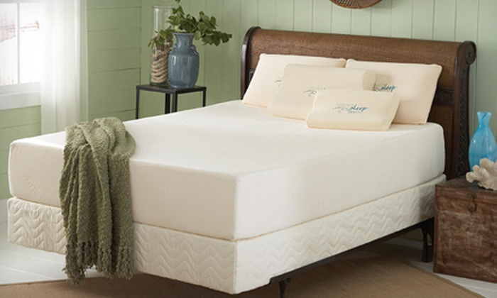 Nature's Sleep: Nature's Sleep Visco Memory-Foam Mattress (Up to 74% Off). Free Shipping. Seven Options Available.