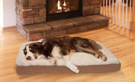 Deluxe Ultra-Plush Orthopedic Pet Bed