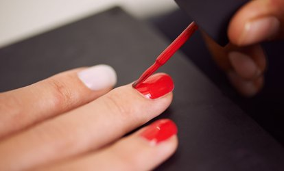 image for Gel Polish on Fingernails or Acrylic Nail Extensions at The Attic Hair and Beauty (Up to 31% Off)