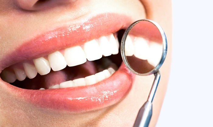 Orange Dental Arts/OC Healthy Smiles - Multiple Locations: Cleaning, X-rays, and Exam with Optional Take-Home Teeth-Whitening Kit at Orange Dental Arts (Up to 90% Off)