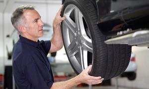 Les Pneus Carignan: Forfaits de changement d'huile et pose de pneus chez Les Pneus Carignan (jusqu'à 74 % de rabais), 2 succursales