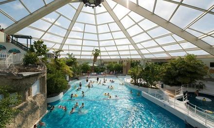 Belgische kust: weekend/midweek/week in vakantiehuis voor 4 p. met toegang subtropisch zwemparadijs op Sunparks De Haan