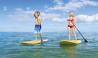 One-Hour Paddleboarding Session for Up to Two People at St Ives Boat Rides (Up to 46% Off)