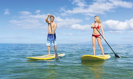 90-Minute Stand Up Paddleboard Lesson for One or Two from LondonSUP (Up to 54% Off)