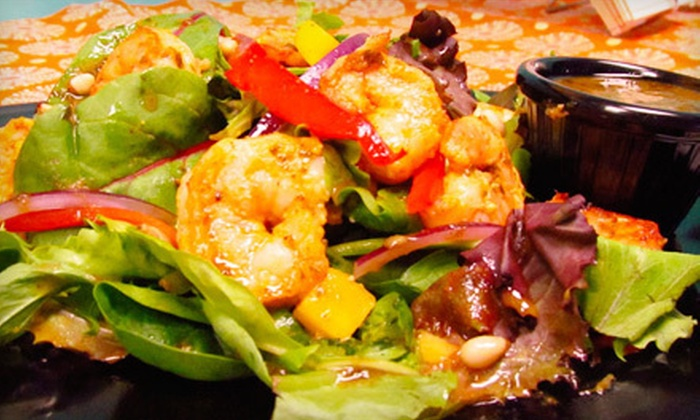 Chakra Cafe - Bellevue,Soutwest Quadrant: $10 for $20 Worth of Indian Fusion Food for Breakfast, Lunch, or Dinner at Chakra Café