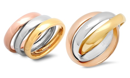 Set of 3 Tri-Color Rings
