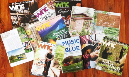 $10 for a One-Year Subscription to WNC Magazine ($19.95 Value)