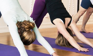 Yoga Daya: One Month of Unlimited Yoga Classes or 10 Classes at Yoga Daya (Up to 70% Off)