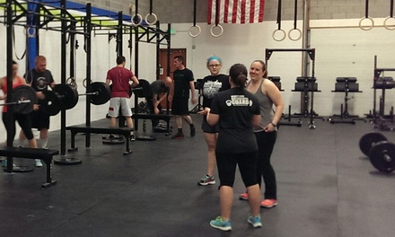 One Month of CrossFit Classes 3 or 6 Times Per Week at CrossFit Harford (Up to 65% Off)