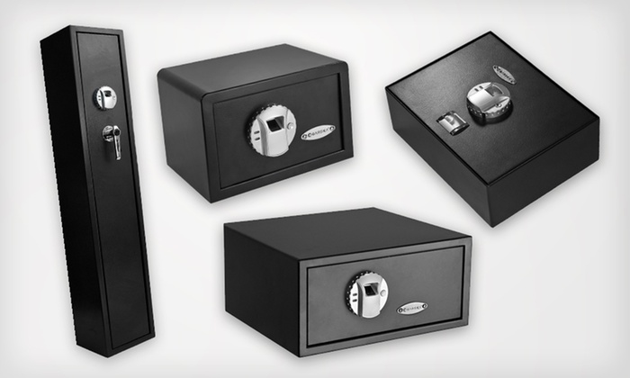 Fingerprint Safes: Barska Biometric Safes (Up to 62% Off). Four Options Available.
