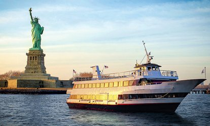 $12 for One-Hour Boat Tour Around Manhattan for One with Hornblower Cruises & <strong>Events</strong> ($31 Value)
