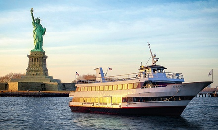 $12 for One-Hour Boat Tour Around Manhattan for One with Hornblower Cruises & Events ($31 Value)