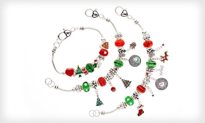 Landau Ambrosia Holiday Charm Bracelets: $19 for a Landau Ambrosia Holiday Charm Bracelet ($95 List Price). Seven Styles Available. Free Shipping.