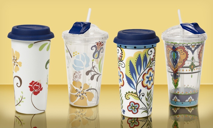 Set of Two Hot and Cold Travel Cups: Set of Two Hot and Cold Travel Cups. Free Returns.