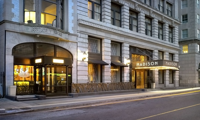 Madison Hotel - Memphis, TN: Two-Night Stay with Valet Parking, Wine, and Truffles at Madison Hotel in Memphis, TN