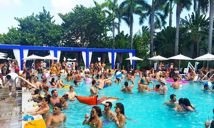 Reload Pool Parties - Shore Club: All-Day Party Pass for One, Two, or Four from Reload Pool Parties on Sunday, September 6 (Up to 38% Off)