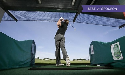 150 Driving Range Balls with Club Hire at Trafford Golf Centre (Up to 56% Off)