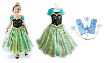 Princess Dress/Dress-Up Set from AED 39 (Up to 73% Off)