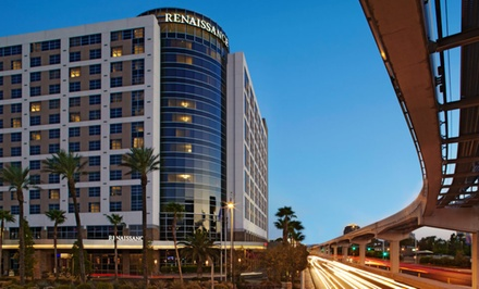 groupon daily deal - Stay at Renaissance Las Vegas in Nevada. Dates into December 2014 or March–June 2015.