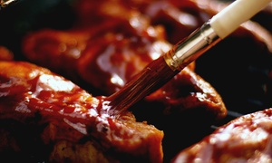Huntin Camp BBQ and Grill: Barbecue Food at Huntin Camp BBQ and Grill (55% Off). Two Options Available.