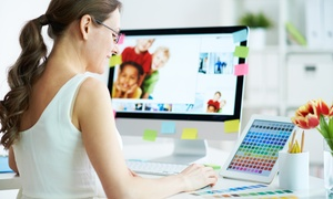 Shaw Academy: Graphic Design Live Certification Course for R149 with Shaw Academy (98% Off)