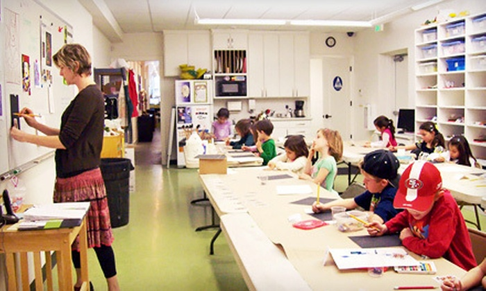 The Chartreuse Muse - Downtown,Central Modesto: Weeklong Summer Arts Camp for One or Two Kids Aged 4–7 or 8–12 at The Chartreuse Muse (Up to 55% Off)